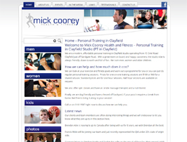 Mick Coorey - Health and Fitness